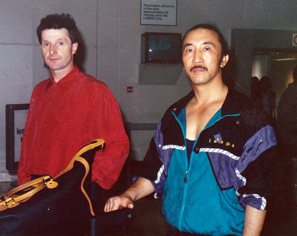 Frank Murphyy with Master Hee il Cho