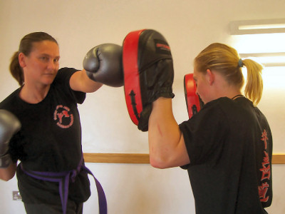 Boxing and Padwork