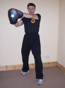 Martial Arts Training Equipment - Using Focus Pads