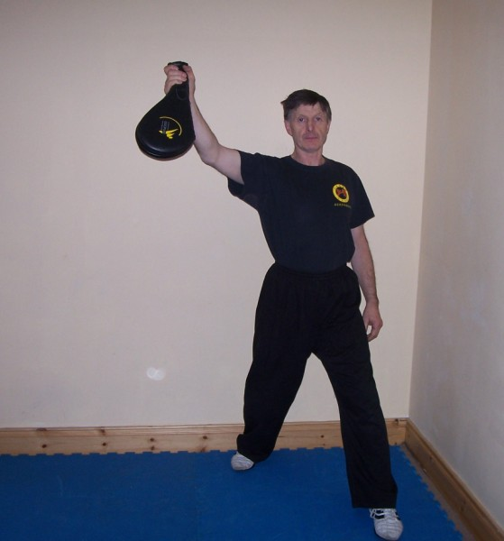 Martial Arts Training Equipment - Using Paddle Pads