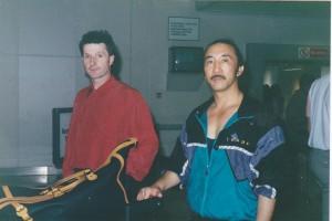 Taekwondo Master Hee IL Cho with Master Frank Murphy