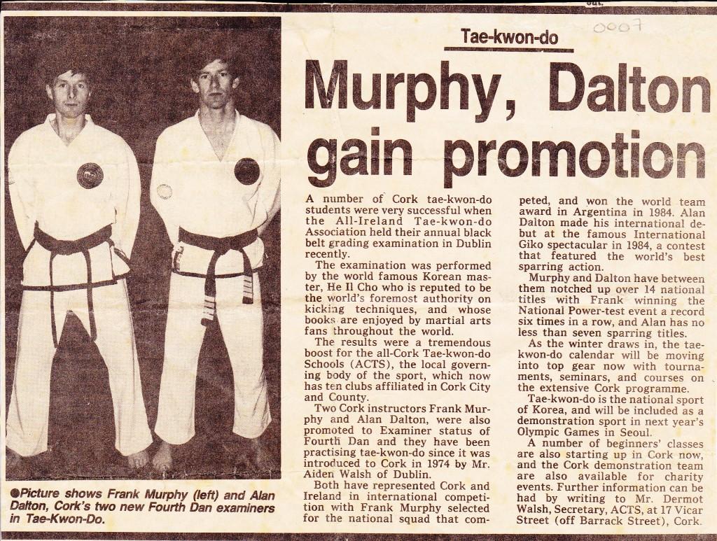 Frank Murphy & Alan Dalton