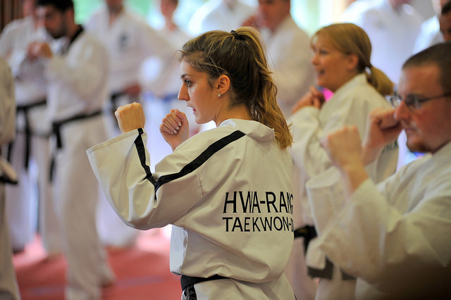 Nicole Canty, part of the emerging generation of Cork Taekwon-Do